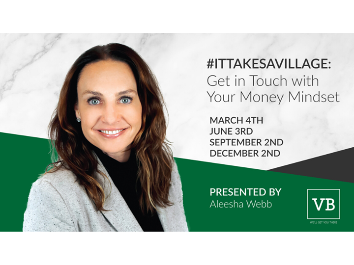 (POSTPONED) #ItTakesAVillage: Get in Touch with Your Money Mindset-What Your Financial Statements Can & Should Do for Your Business
