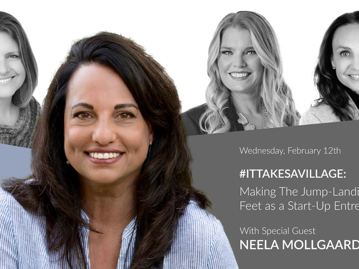 #ItTakesaVillage: Making The Jump-Landing on Two Feet as a Start-Up Entrepreneur