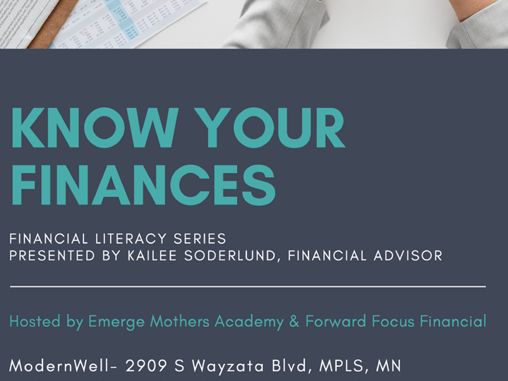 Financial Literacy Series - Know Your Finances Part One