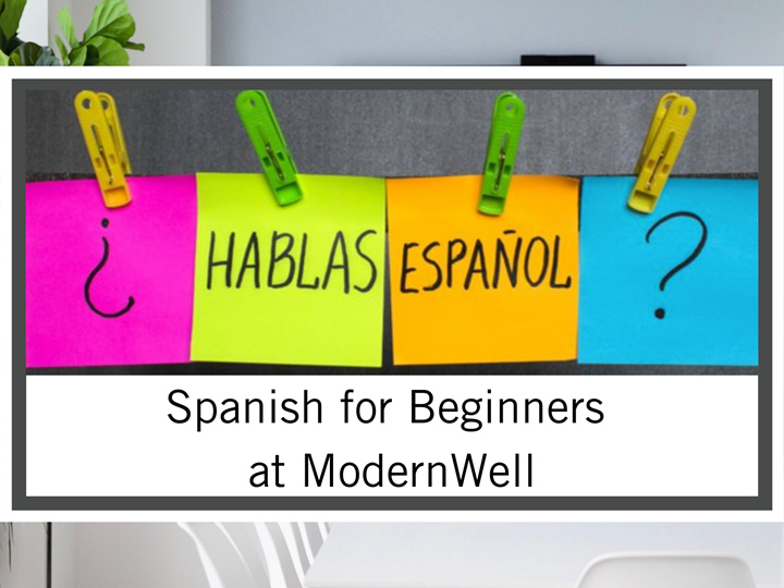 SOLD  OUT! Online Spanish for Beginners