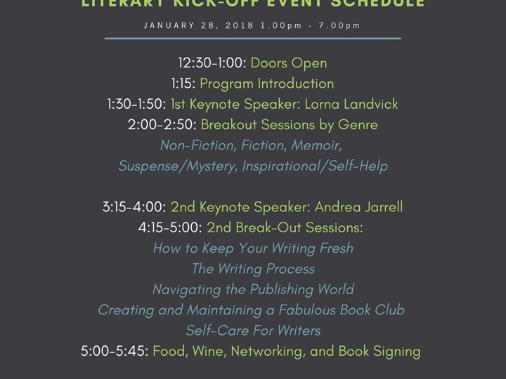 ModernWell Readers & Writers Literary Kick-Off Event