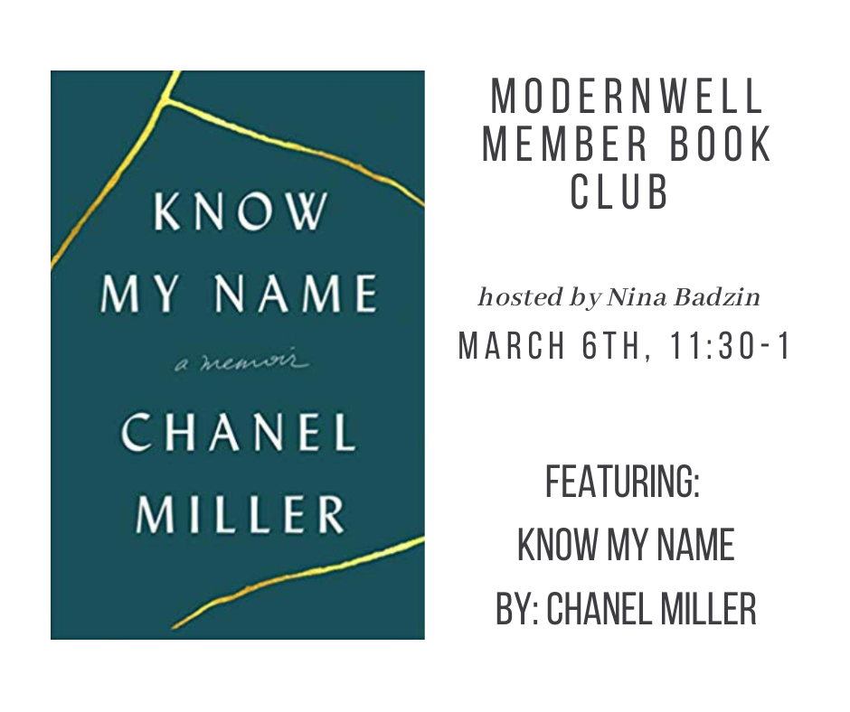 ModernWell Member Book Club - March 2020