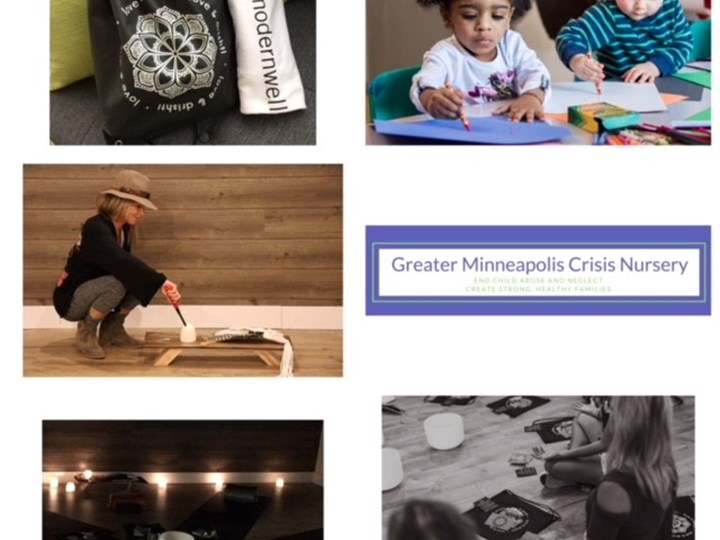 Guided Sound Bath Meditation benefiting Greater Minneapolis Crisis Nursery