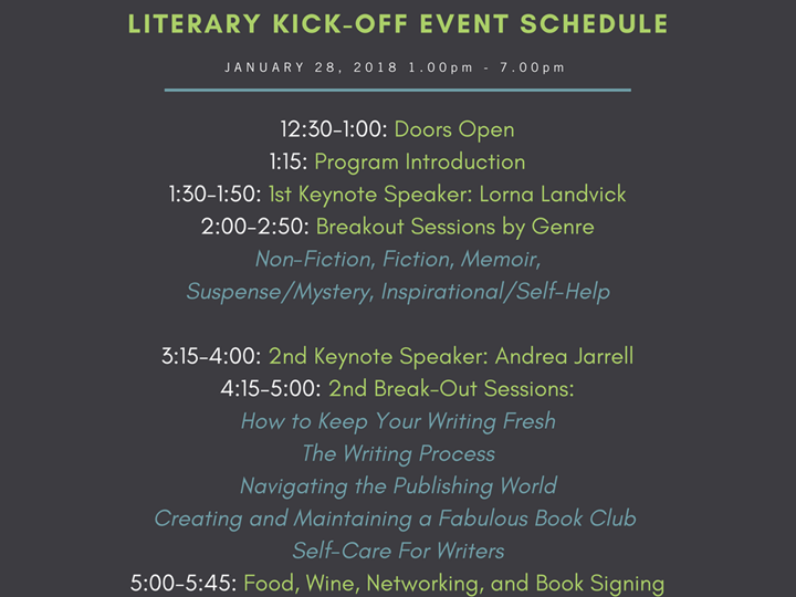 Read Well. Write Well. ModernWell 2018 Literary Conference