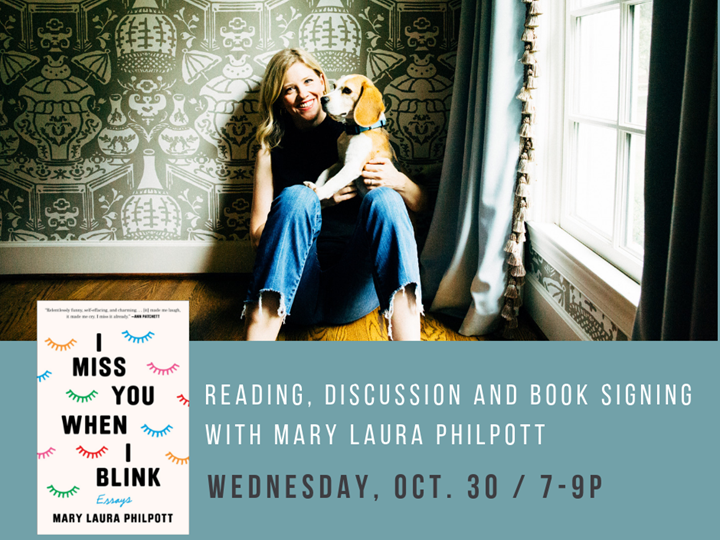 I Miss You When I Blink: Discussion with Mary Laura Philpott and Curtis Sittenfeld